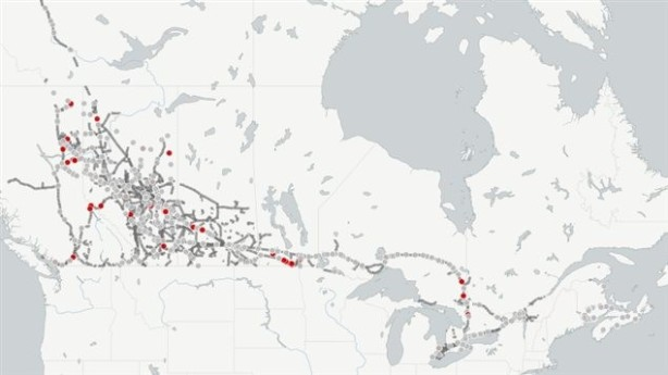 Carte_fuite_pétrole_Canada