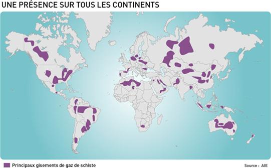 Carte_monde_Gaz_de_schiste-AIE